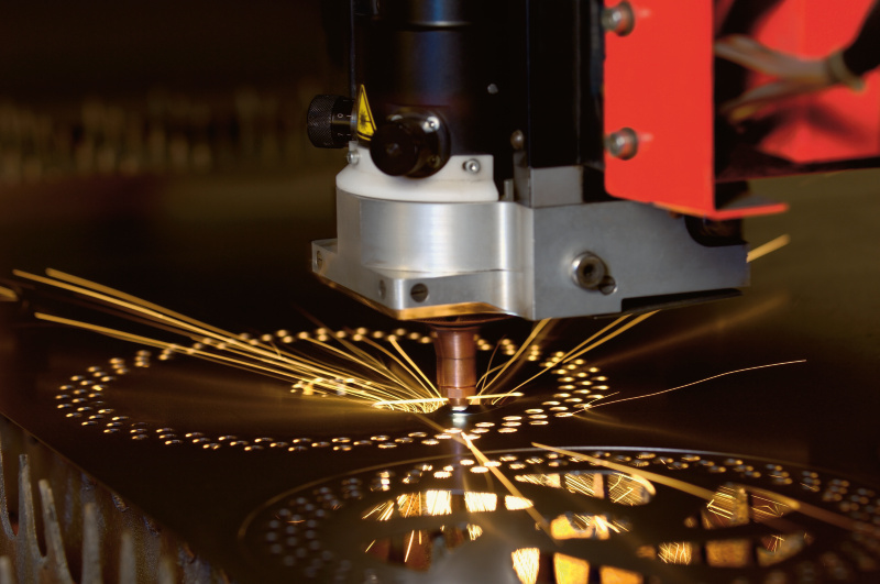 Laserschneiden (Foto: Bystronic)